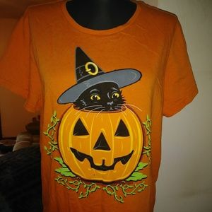 Graphic Halloween Tshirt